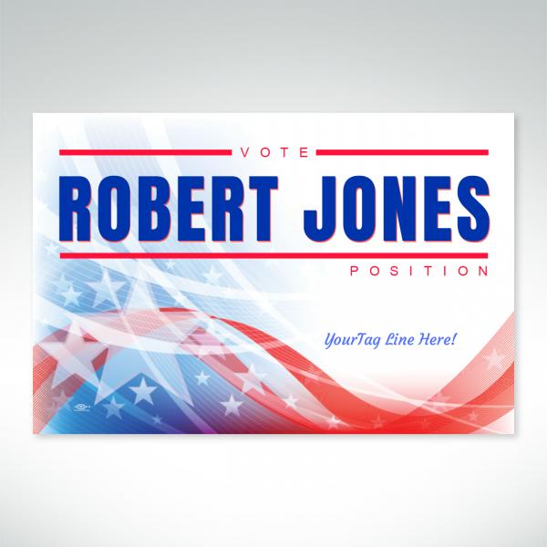 18x12 Robert Jones vehicle magnet