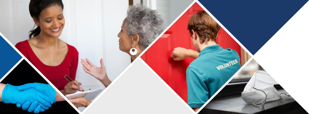 campaigning door-to-door